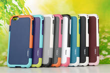 Hybrid 2nd Walnutt Anti-Shock Shockproof Heavy Duty Tough case Rubber TPU Hard Plastic for Iphone 6 6G Air 4.7 4 4S 5 5S 5pcs