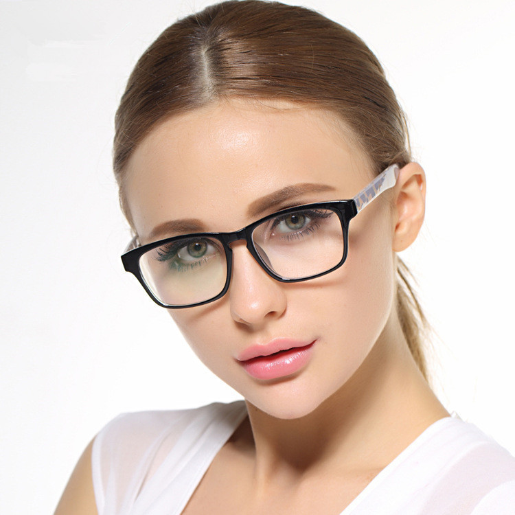 big frame black glasses stylish eyewear and