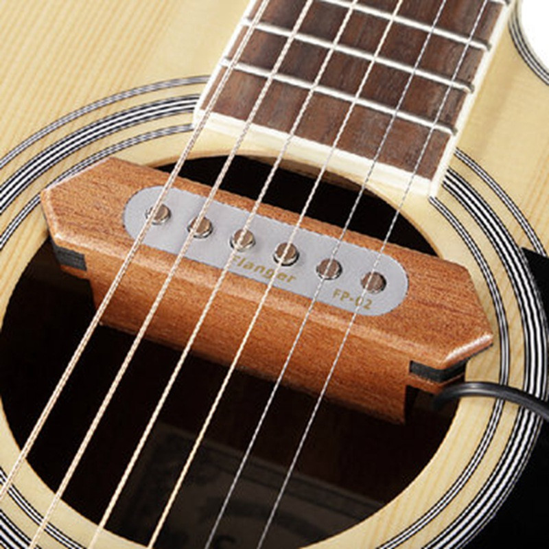 Brand Flanger FP-2 Wood Acoustic Guitar Pickup Sound Hole Pickup Acoustic Guitar Accessories(China (Mainland))