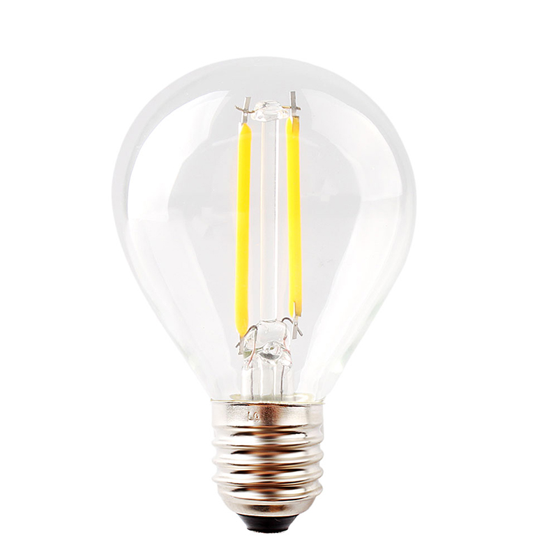 Гаджет  Energy Saving E14 2W LED Edison Filament lamp 220-240V ball globe bulb G45 #73813 None Свет и освещение
