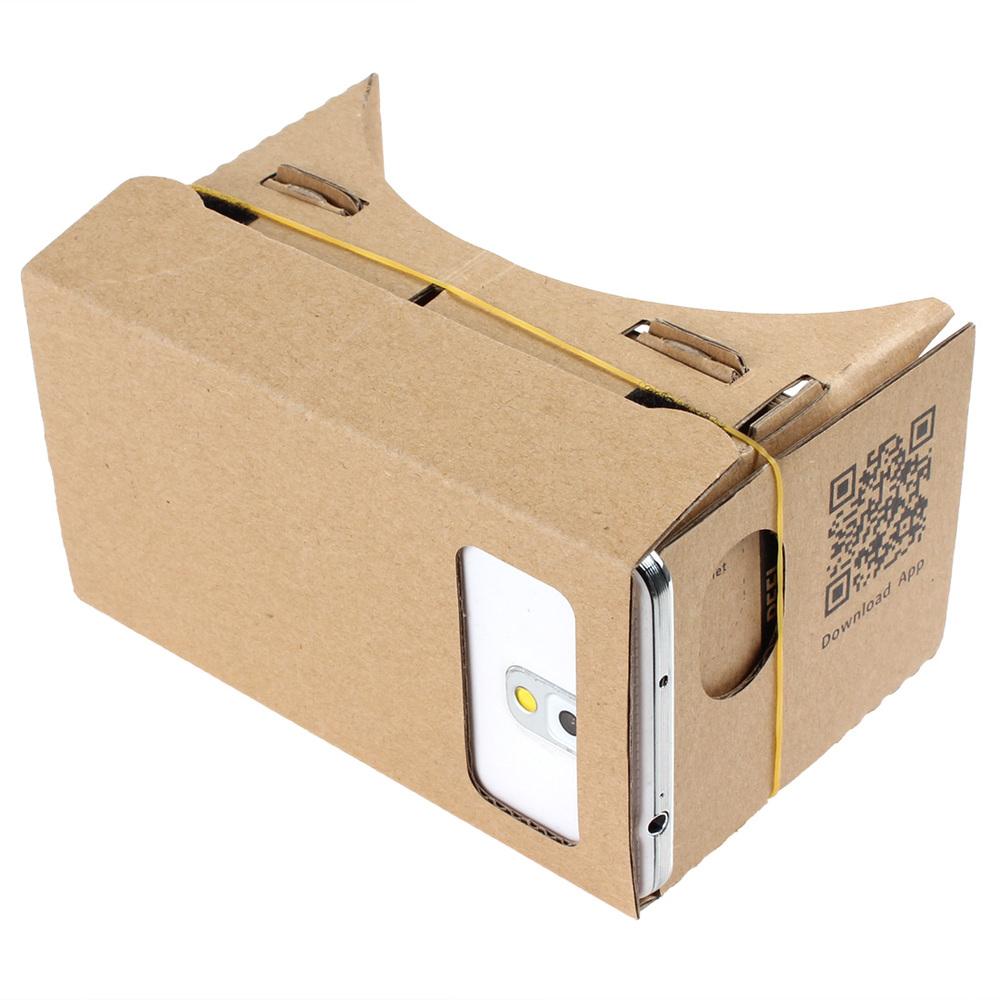 Ultra Clear Google Cardboard Valencia Quality 3D VR Virtual Reality Glasses