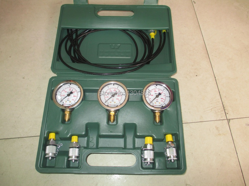 Test Gauge Kit Hydraulic Testing Gauge