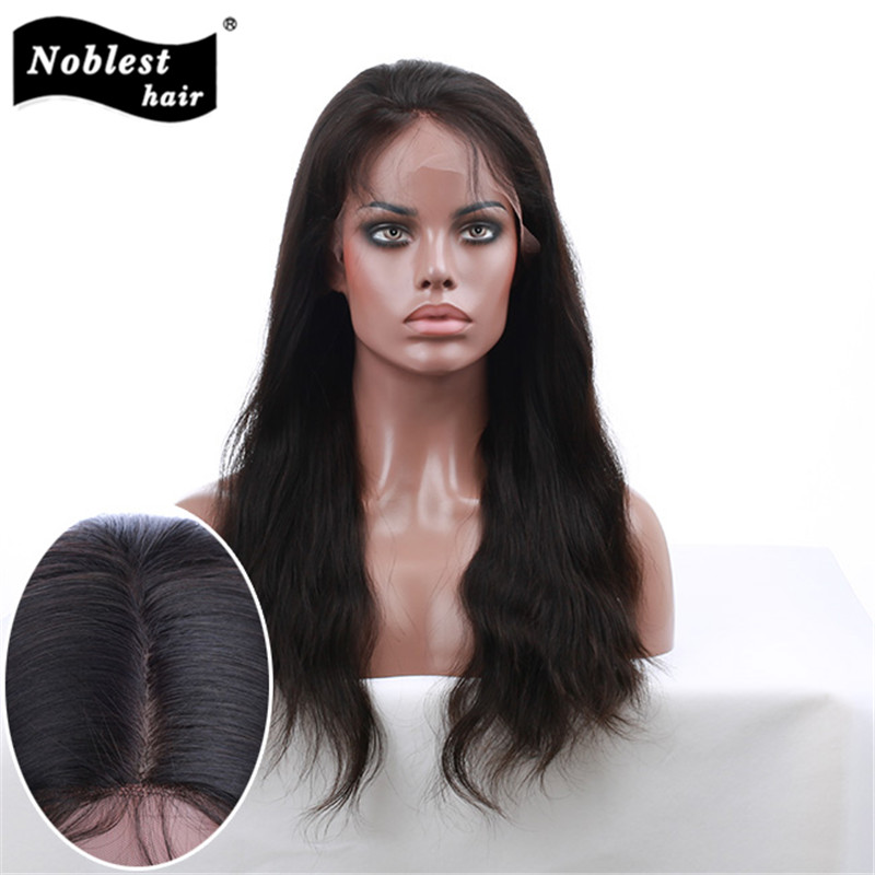 Peruvian Hair Straight 4x4 Glueless Silk Base Wigs Silk Top Lace Front Wig Glueless Full Lace Human Hair Wigs For Balck Women