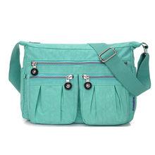 Sacos de mulheres Mensageiro Nylon Impermeável saco Das Senhoras Bolsas de Ombro Crossbody Bolsas Femininas Bolsa Bolsos Mujer feminina Lady Tote(China)