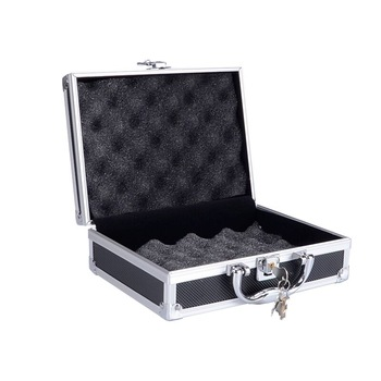 Aluminum  Gun Case Tactical Hard Pistol Padded  Gun Case Foam Lining for Hunting Airsoft