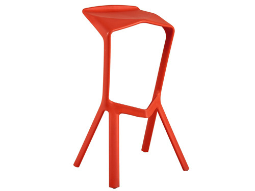 [Homer] shark mouth creative bar chair / leisure chair IKEA simple plastic bar chairs / tri-color into the(China (Mainland))
