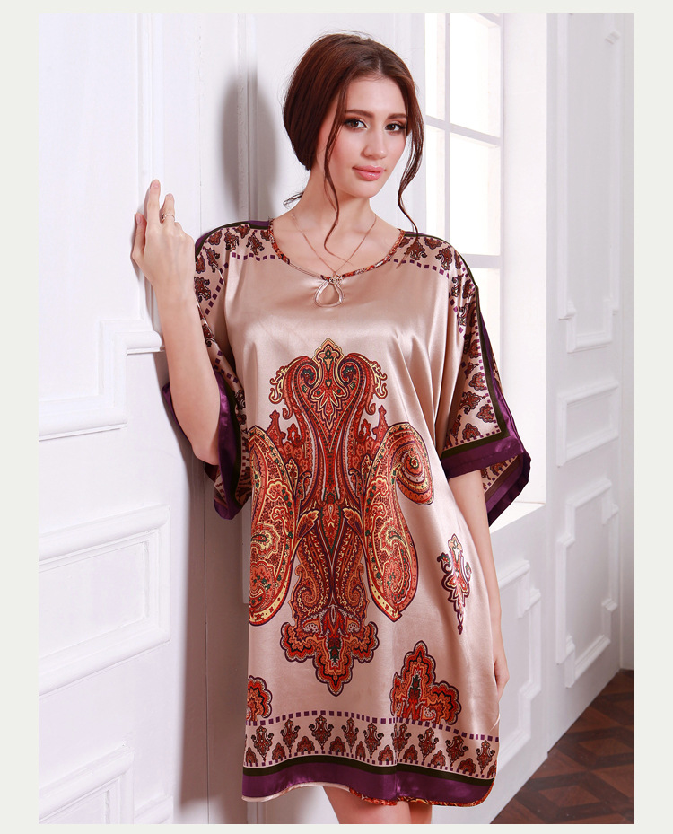 Plus Size Satin Nightgowns Promotion-Shop for Promotional Plus ...