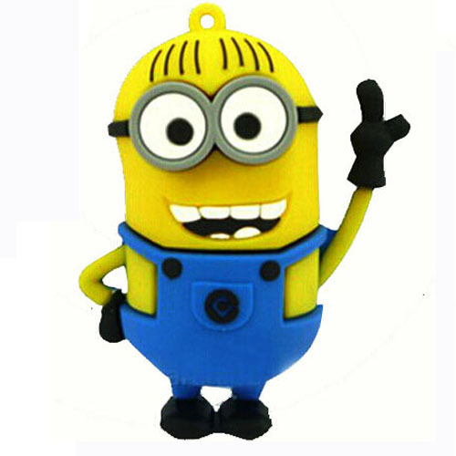 Portable pen drive minions Cartoon despicable me pendrive minion pendrives 4gb 8gb 16gb 32gb usb flash drive memory stick(China (Mainland))