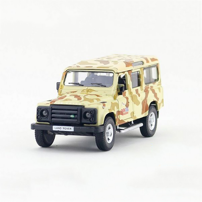 UNI-FORTUNE1/36 pull back car Defender alloy models model car Camouflage SUV children's toys car Kids toy(China (Mainland))
