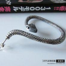 925 pure silver thai silver retro finishing vintage stud earring plate ear box(China (Mainland))
