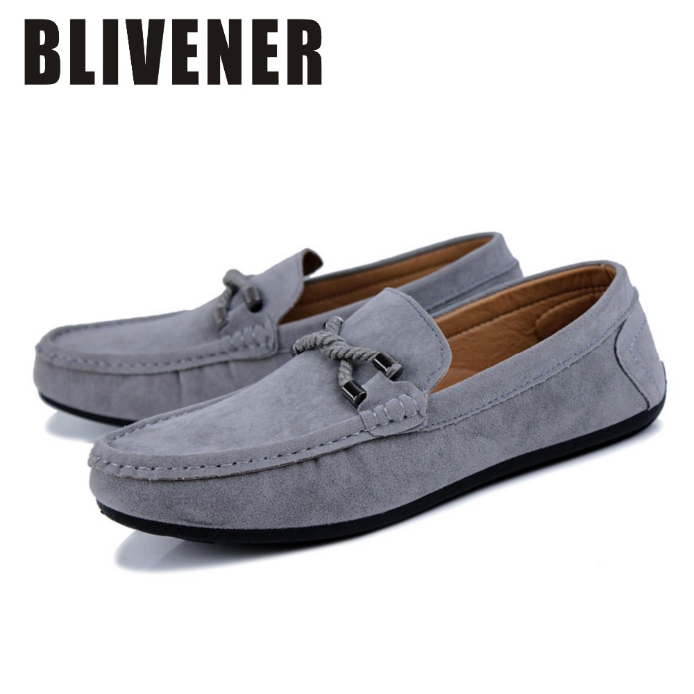 2015 Autumn Style Men Loafer Shoes Fashion Suede Shoes Zapatos Hombre Leisure Nubuck Leather