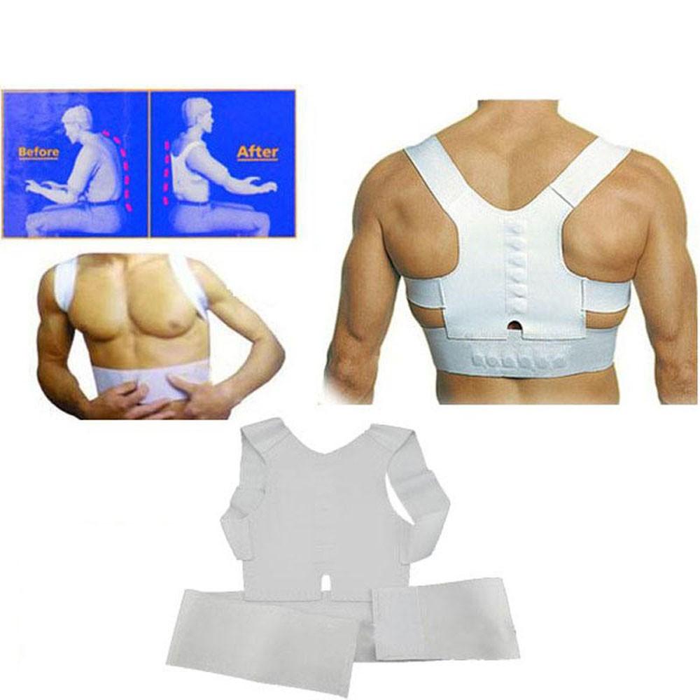 Magnetic1 Pcs Best Adult Custom-made Babaka Correct Posture Corrector Vest Braces Back Support Belt Free Shipping & Wholesale(China (Mainland))