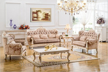 hot sell antique sofa set solid wood sofa living room leather sofa European style leather sofa buying agent wholesale price(China (Mainland))