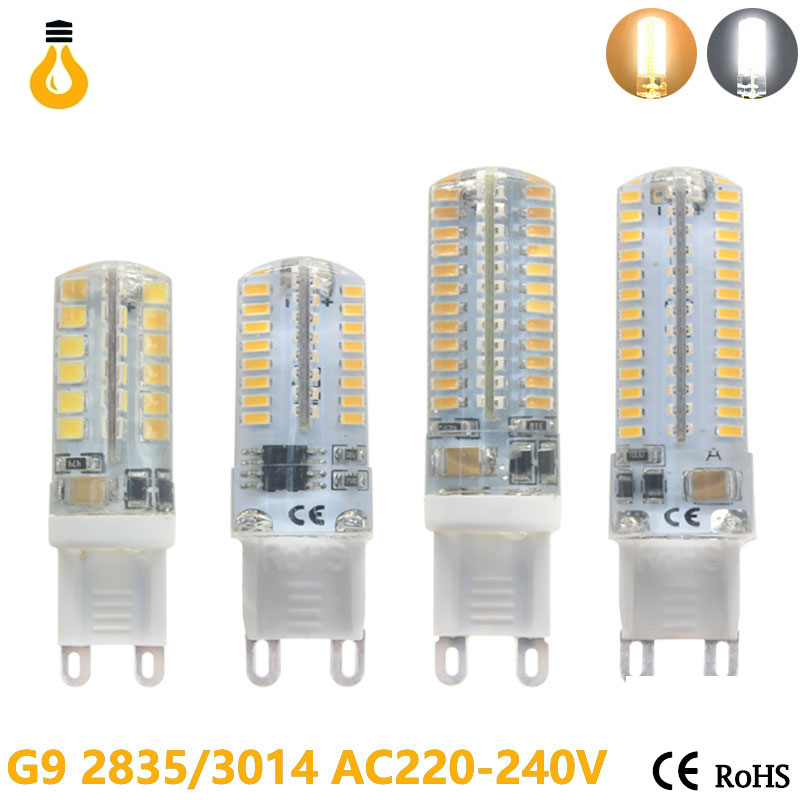 Lowest price LED Bulb SMD 2835 3014 LED G4 G9 LED lamp 3W 7W 9W 10W 12W Corn Light DC12V AC220V 360 Degree Replace Halogen Lamp(China (Mainland))