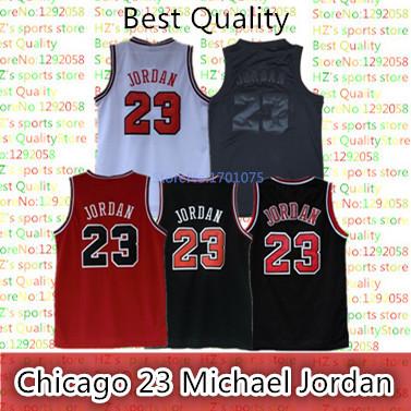 Free Shipping HOT SELL Jersey Michael Jordan Basketball Jersey Color White Black Red Cheap mesh Basketball Jersey(China (Mainland))