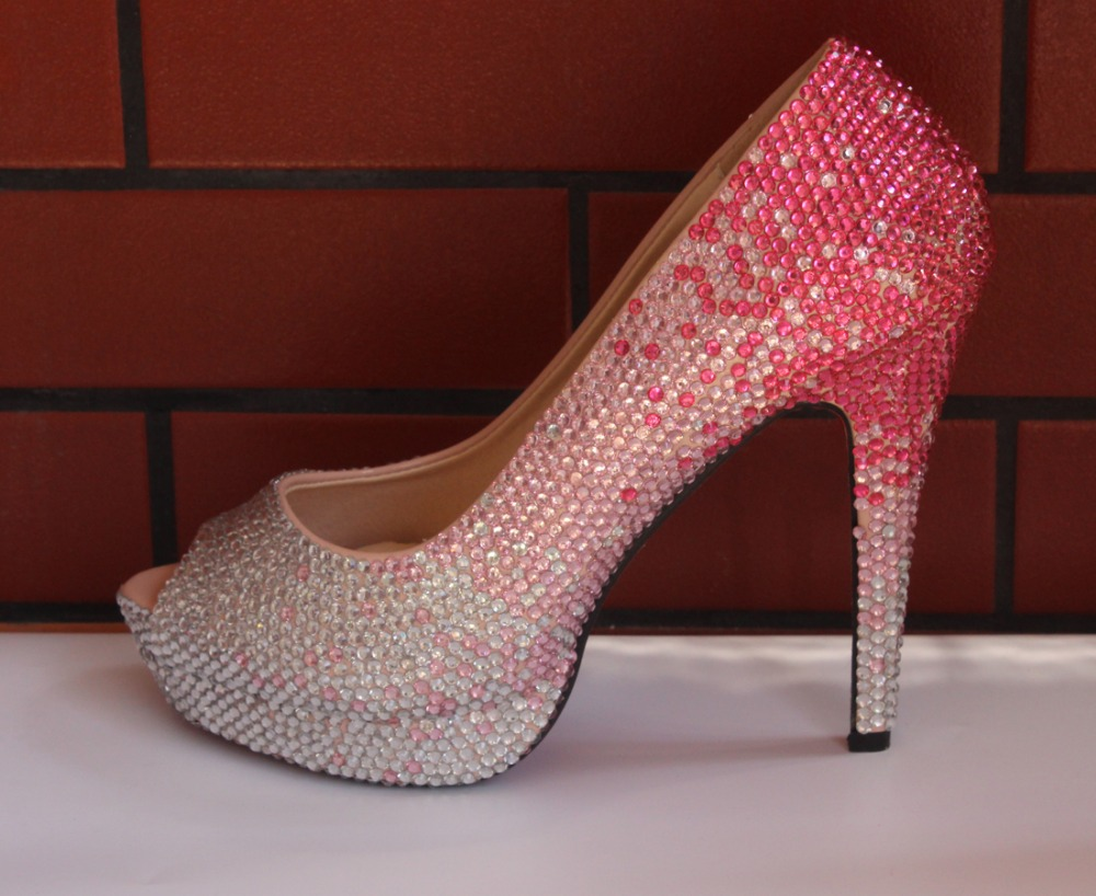 Pink Diamond High Heels