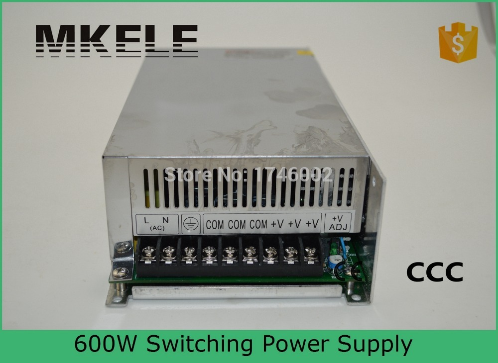 Фотография low price high quality hot sale 600w 15v 40a 220v S-600-15 40A switching model power supply with ce certification