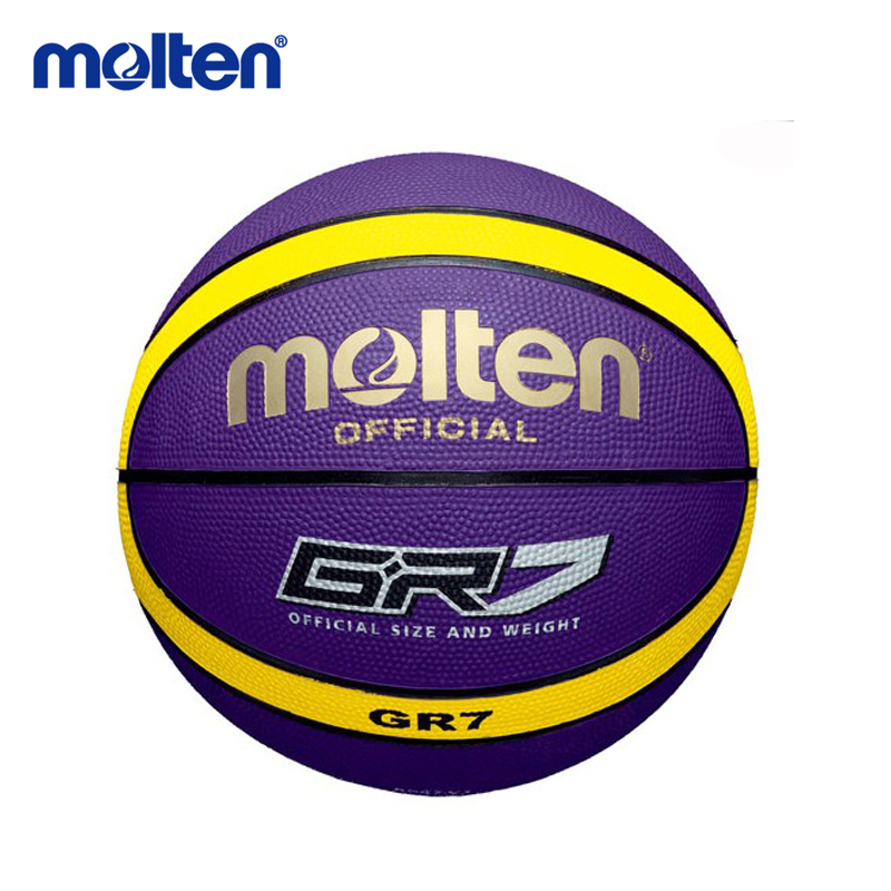 original molten basketball ball GR7 NEW Brand High Quality Genuine Molten rubber Material Official Size 7 Basketball(China (Mainland))