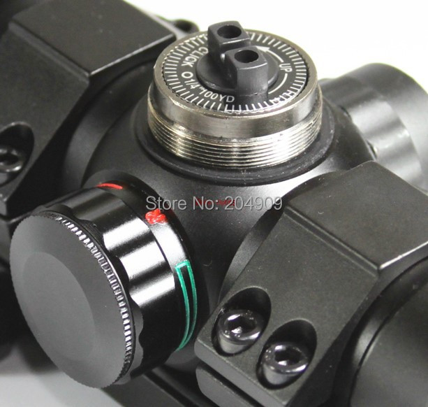 Vector Optics Panther 1x34 Tactical Red and Green Dot Riflescope Sight with Filp up Cap fit Pistol Rifles 21mm Weaver Rail