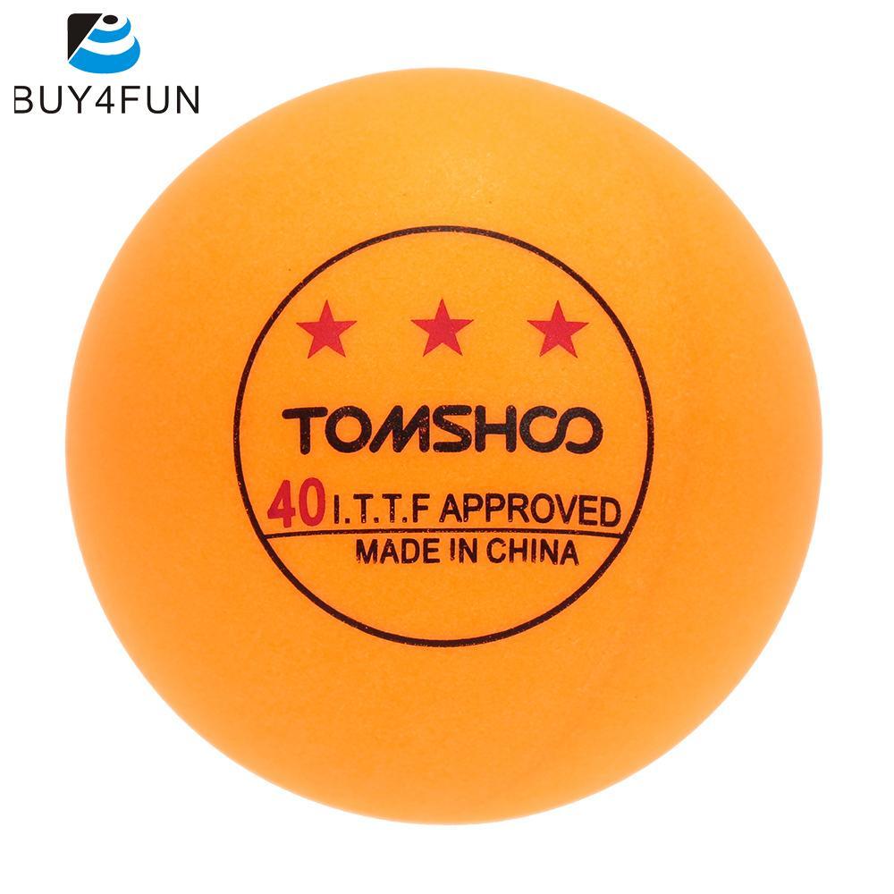 3-Star Pingpong Ball 40mm Table Tennis Ball TOMSHOO Standard 100Pcs Advanced Training Pingpong Balls(China (Mainland))