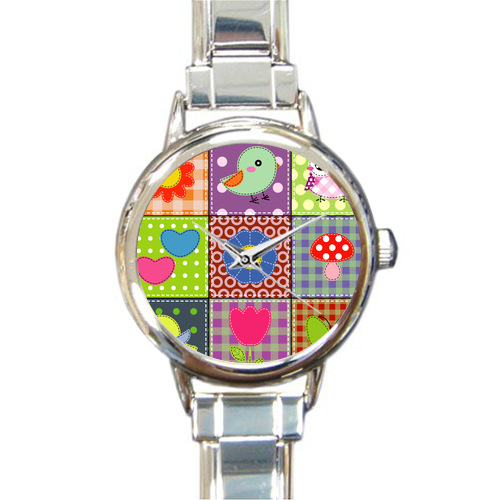 Nice Designed Cute Lucky Owl Picture Italian Charm Watch(China (Mainland))
