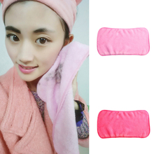 Makeup Remover Towel Reusable Makeup Cleaning Towel Soft Microfiber Makeup Remove Washcloth(China (Mainland))