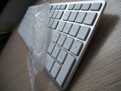 100pcs/lot for iMac Wireless Keyboard G6 Desktop PC Wired Keyboard Full Size High Quality TPU Keyboard Cover Skin<br><br>Aliexpress
