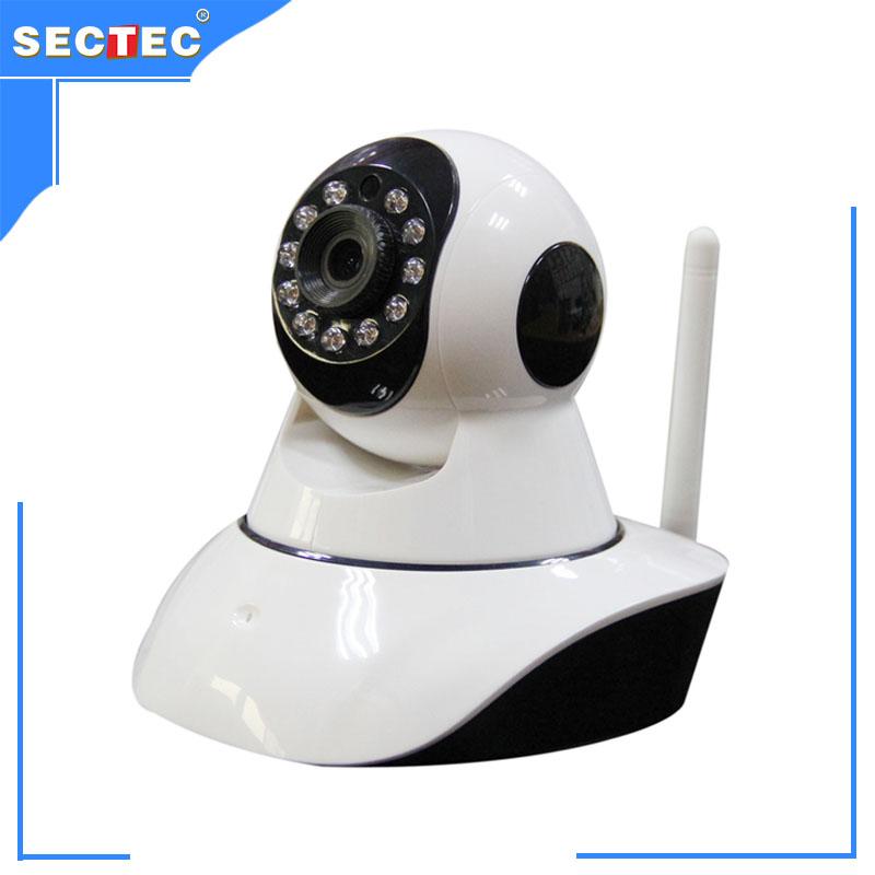 item Whole sale and retail plastic wifi  ip p camera CU Yoosee mobile APP smart alarm