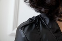 Женская одежда из кожи и замши Brand New , /5xl Slim Fit Women Fashion Jackets