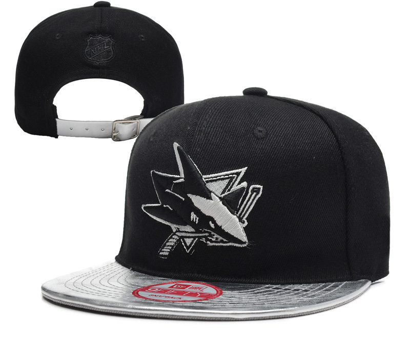 Free shipping 2015 hip hop nhl Sharks caps Energy Leather summer style snapback hats chapeau femme cap(China (Mainland))