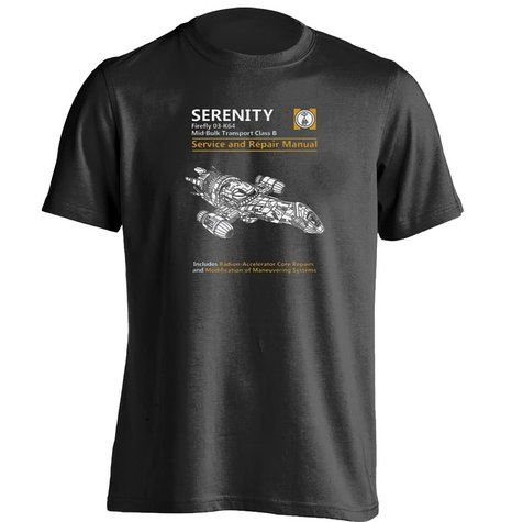 Serenity Service Repair Manual Firefly Mens &amp; Womens Personalized T ShirtОдежда и ак�е��уары<br><br><br>Aliexpress