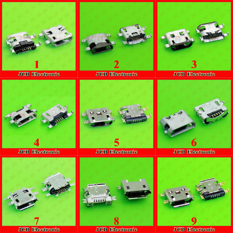 22models High quality Micro USB Jack Charging Socket for ASUS Memo Pad 7 ME170C/Lenovo P70 P70t / Sony X10 / HTC /Nokia/...<br><br>Aliexpress