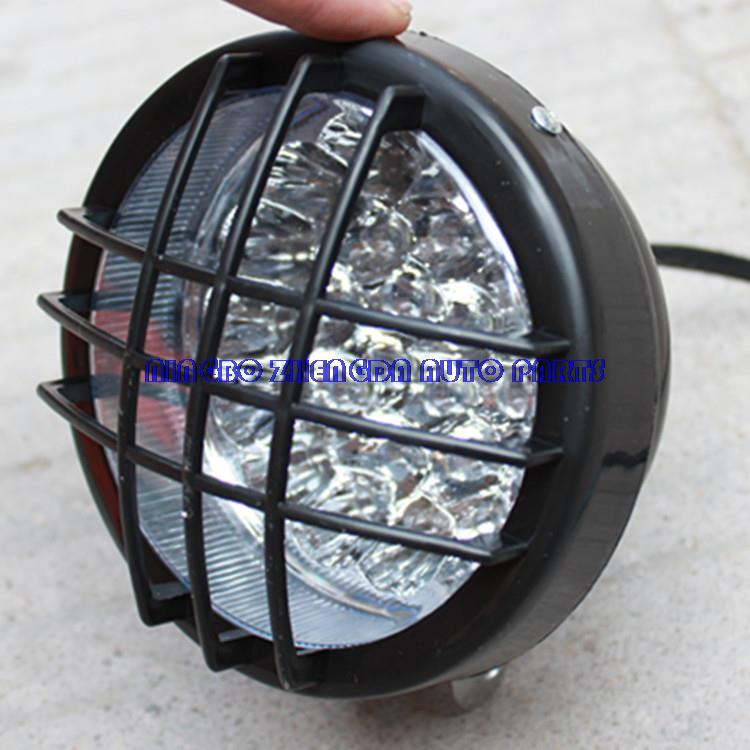 ATV accessories size before the bulls converted NET light LED lamp with fixed lug screws motorcycle lights(China (Mainland))