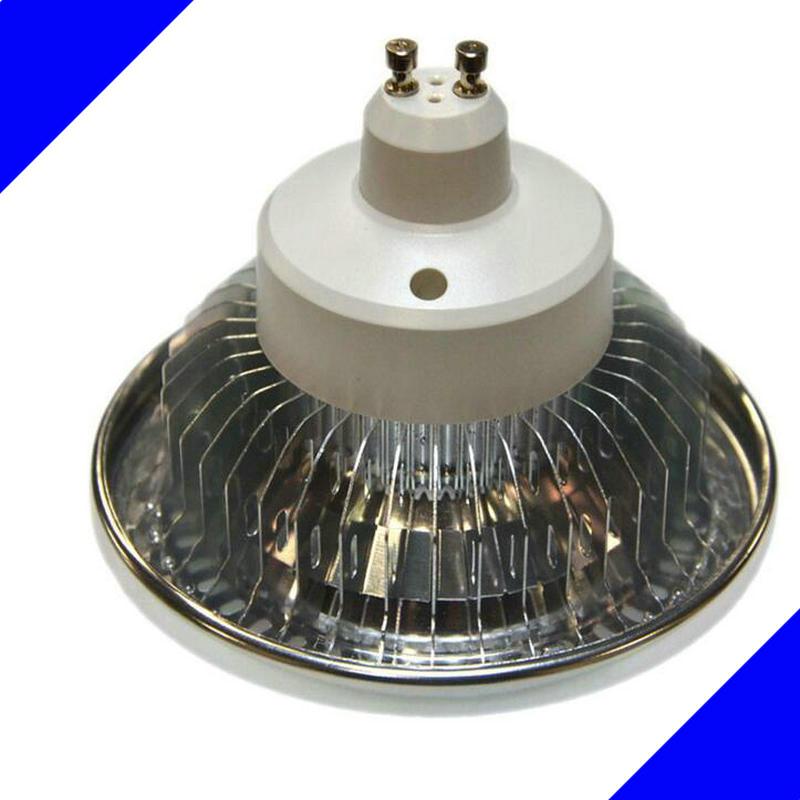 AR111 QR111 ES111 GU10 LED lamp 15W Input AC DC 12V spotlight cob light Ampoule G53 warm white / cool white dimmable bulbs(China (Mainland))