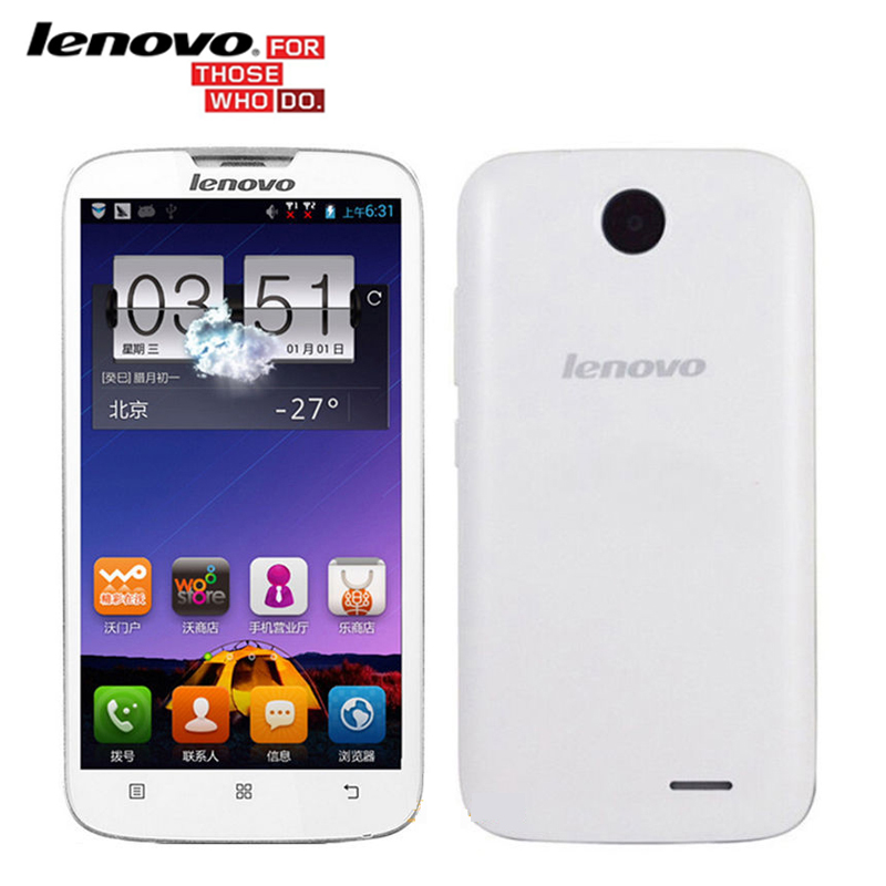 Original <font><b>Lenovo</b></font> A560 5.0 Inch IPS Quad Core 512MB RAM 4GB ROM Android <font><b>Smartphones</b></font> 3G GPS Bluetooth WCDMA Multi-Languages