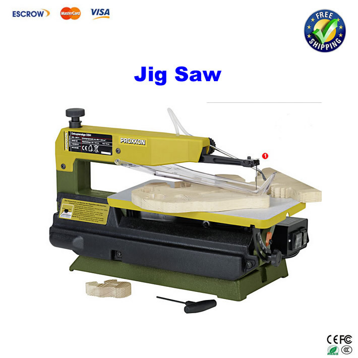 FREE SHIPPING!! Mini table type two-speed jig saw Curve sawing machine(China (Mainland))