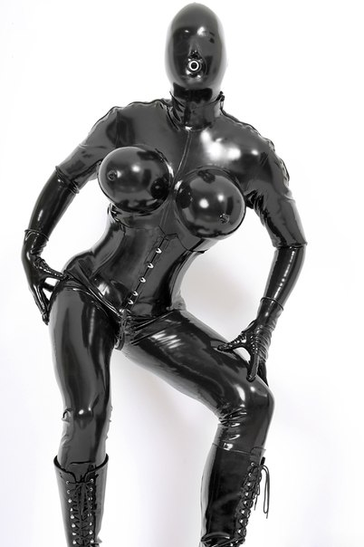 0.4MM Thickness Latex Tight Overall Latex Inflatable Breast Catsuit With Croset Sexy Rubber Latex Cross Dressing(China (Mainland))
