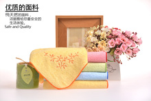 Free shipping bamboo towel terry face hair bath microfibre towels 5 color 76*34cm soft good water Absorption 5 pieces/lot(China (Mainland))