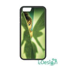 Fit for iphone 4 4s 5 5s 5c se 6 6s plus ipod touch 4/5/6 back skins cellphone case cover On Sale Peter Pan Tinkerbell Hiding