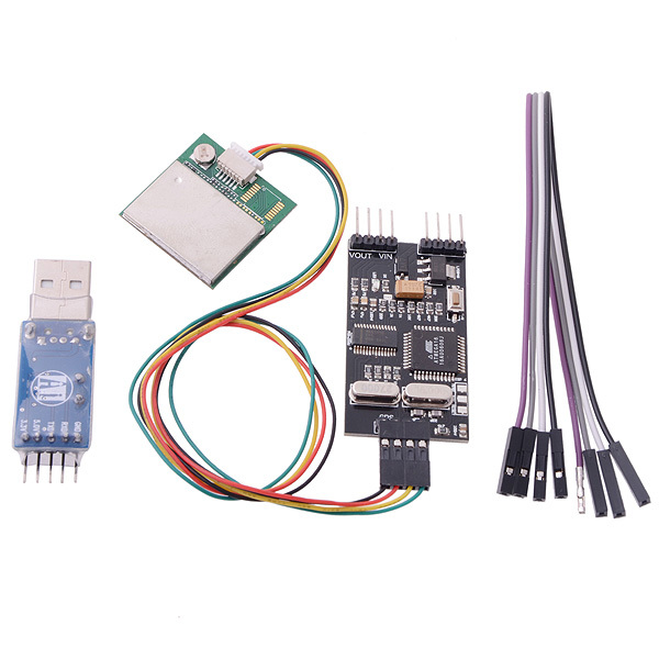 Remzibi OSD FPV OSD GPS Module USB TTL Programmer Combo for RC Multi-rotor Airplanes + Tracking<br>