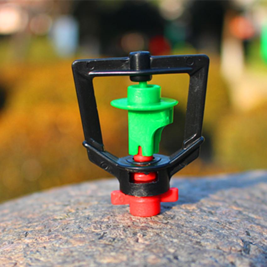 Greenhouse rotary sprinkler water saving garden flower