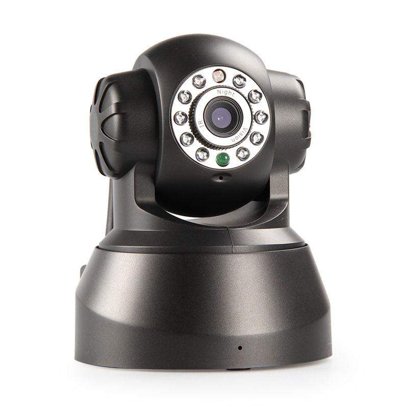 0.3mp ip camera CCTV camera p2p function wireless free DDNS camera pan/pilt mobile phone monitor(China (Mainland))