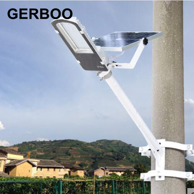 Solar Lights Outdoor Solar Powered Panel LED Street Lights Road Lamp Lampada Solar Garden Emergency Lights(China (Mainland))