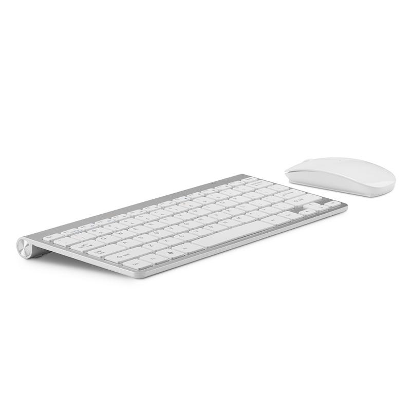 French keyboard Stickers Ergonomic Wireless 2.4G Ultra Slim Keyboard Mouse Keyboard Mouse Combos for Apple Mac Win XP/7/10 IOS(China (Mainland))