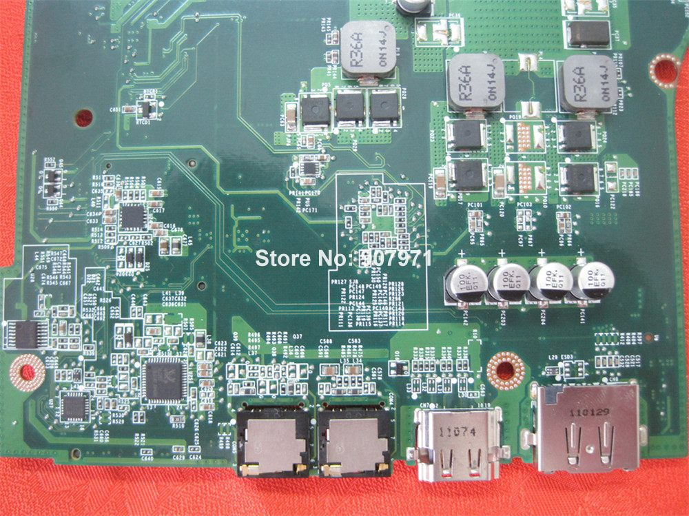 For Dell Vostro 3750 89X88 089X88 CN 089X88 Laptop Motherboard Fully Tested To Work Well