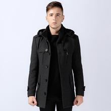 men wool pea coat promotion