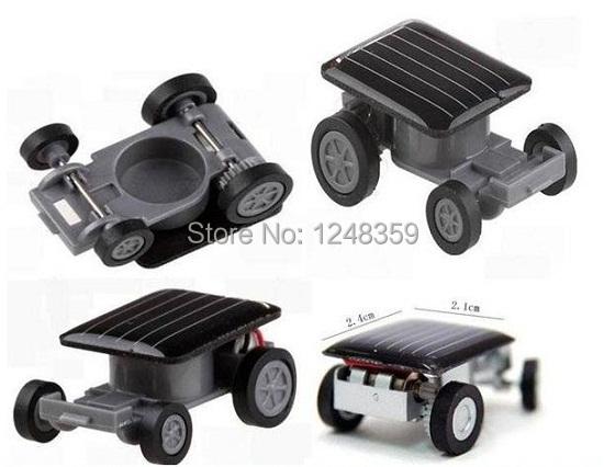 Mini Solar Car Solar Toys Solar Toy Car Gift Novelty items Car Solar Powered No Battery 5pcs/lot Free shipping(China (Mainland))