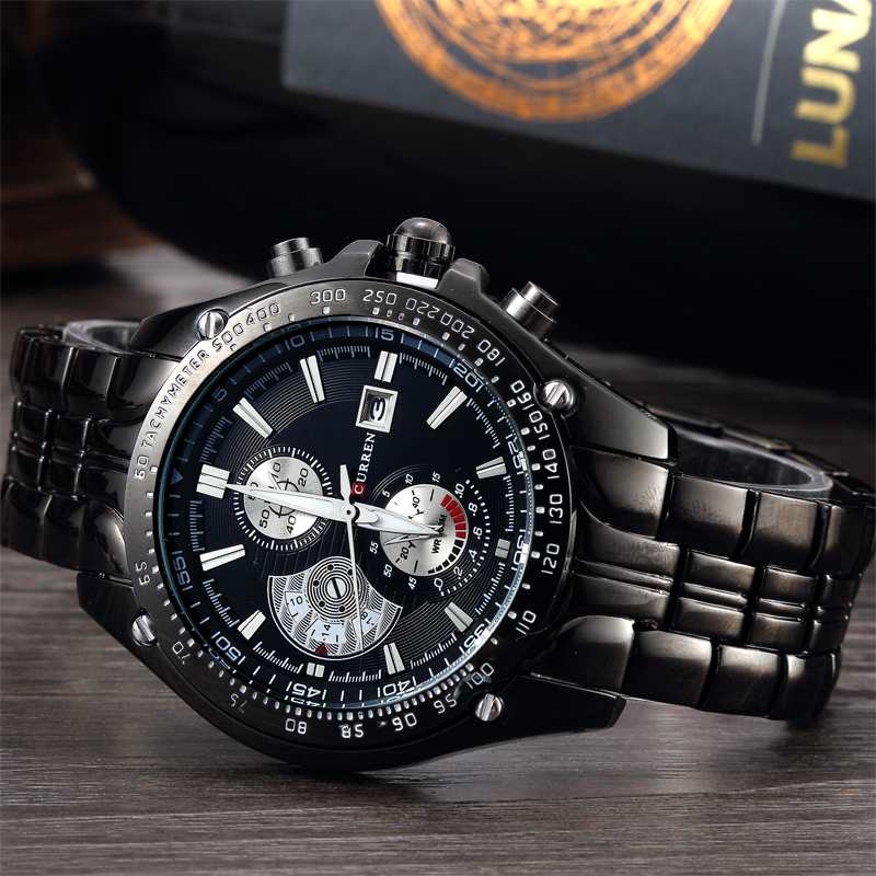 Гаджет  Men watches 2015 curren watch relogio masculino watches men luxury brand reloj hombre clock 8083 japan shopping websites None Часы