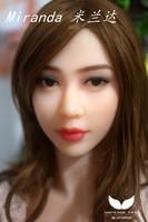 WMdoll Заказ ОРАЛЬНЫЙ секс куклы ГОЛОВУ только голова игрушка секса Для Человека Миранда