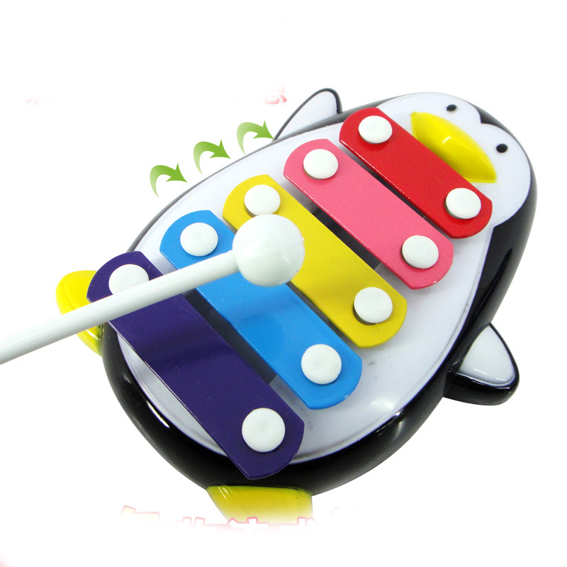 Five - Tone Penguin Piano Music Toys Baby Early Education Musical Instruments Penguin Piano Children 's Toys Christmas Gifts(China (Mainland))